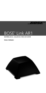 To view the document Bose AR1 User Manual